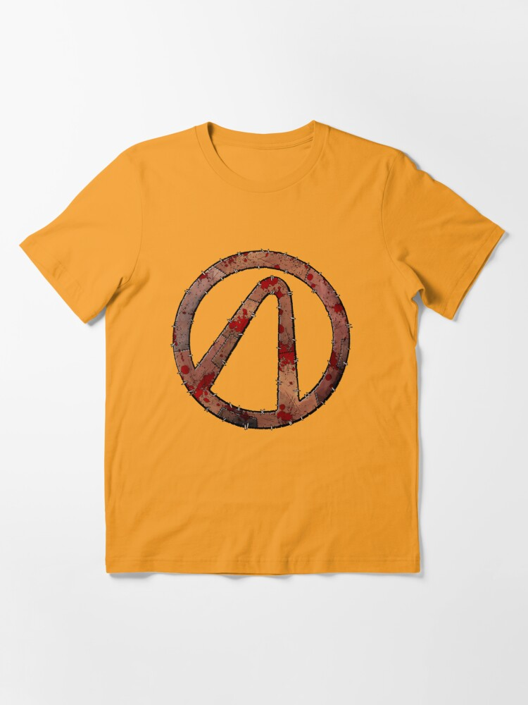 Alternate view of Vault Symbol Stitched Psycho - Borderlands Essential T-Shirt