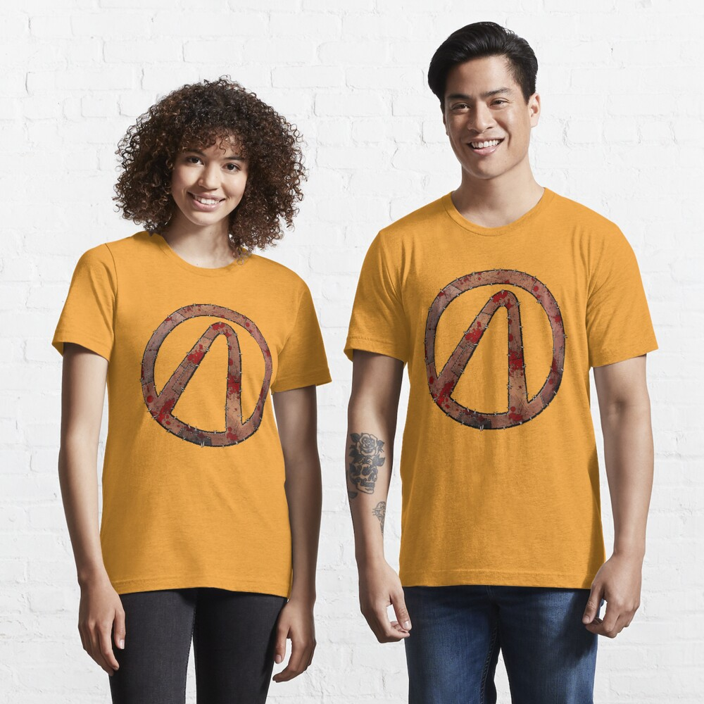 Vault Symbol Stitched Psycho - Borderlands Essential T-Shirt