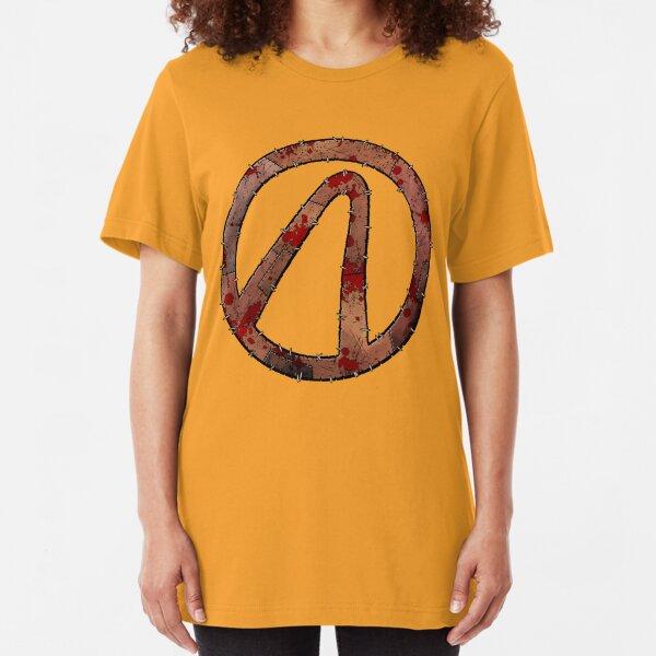 Vault Symbol Stitched Psycho - Borderlands Slim Fit T-Shirt