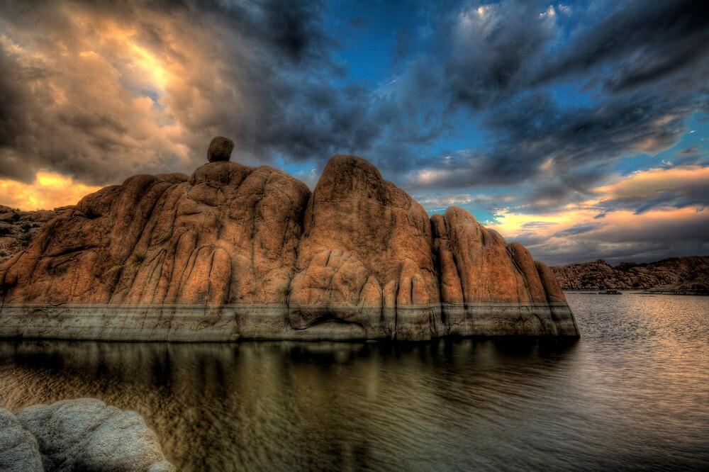 Rock N Clouds by Bob Larson