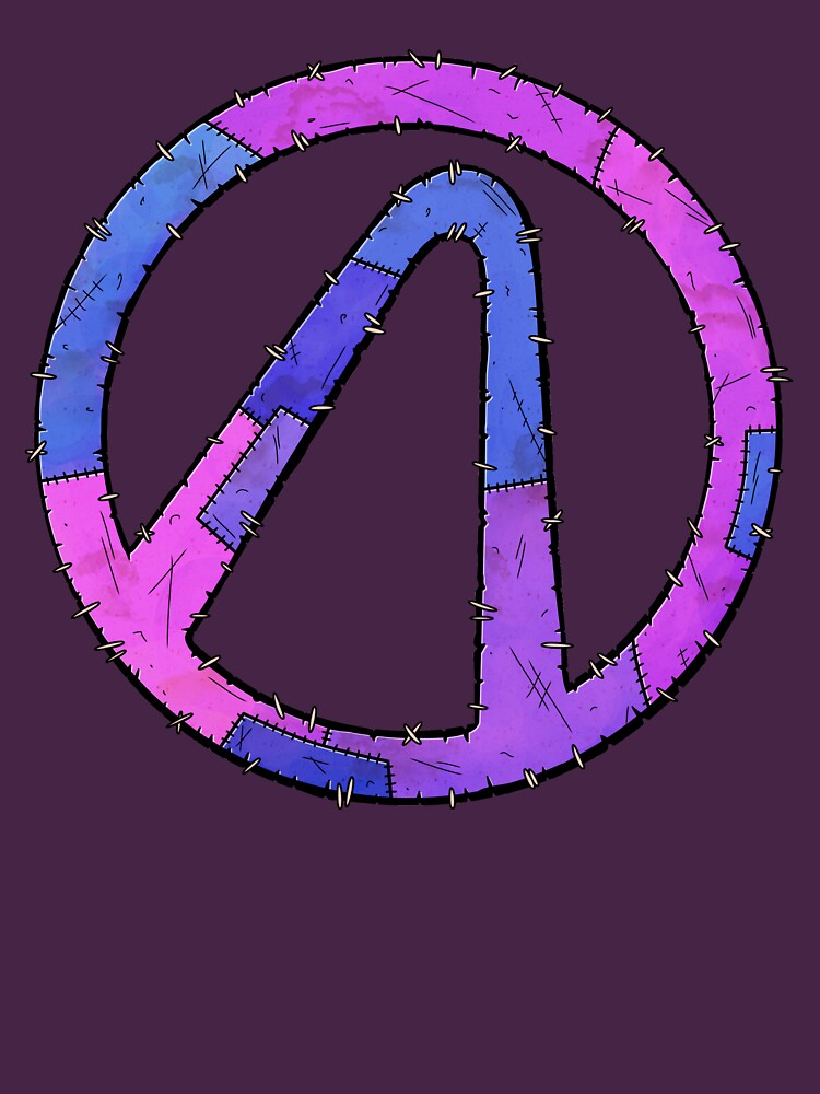 Vault Symbol Stitched Eridium - Borderlands by Doomgriever