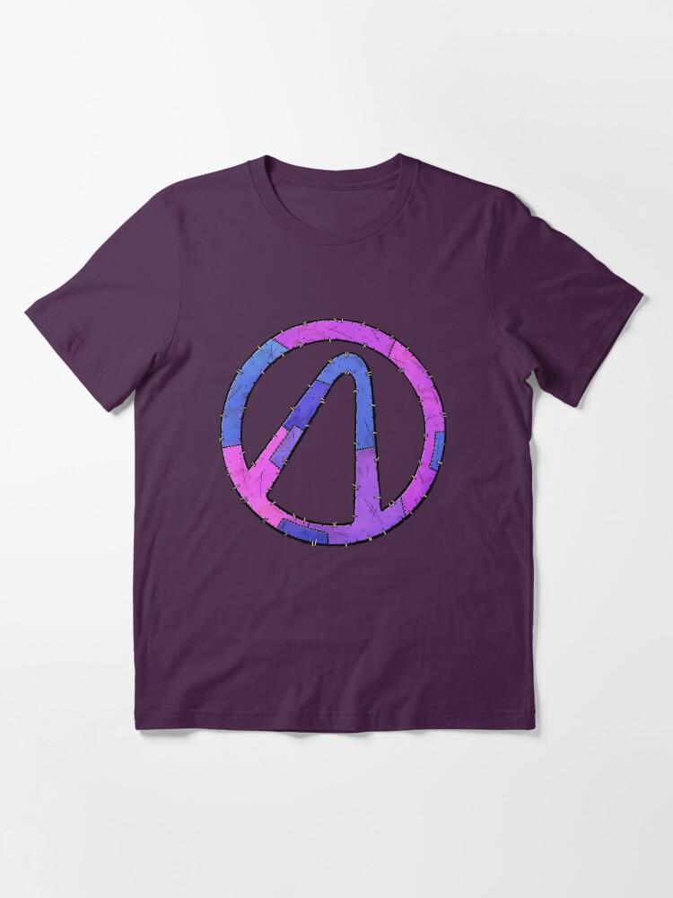 Alternate view of Vault Symbol Stitched Eridium - Borderlands Essential T-Shirt