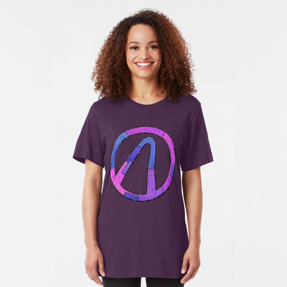 Vault Symbol Stitched Eridium - Borderlands Slim Fit T-Shirt