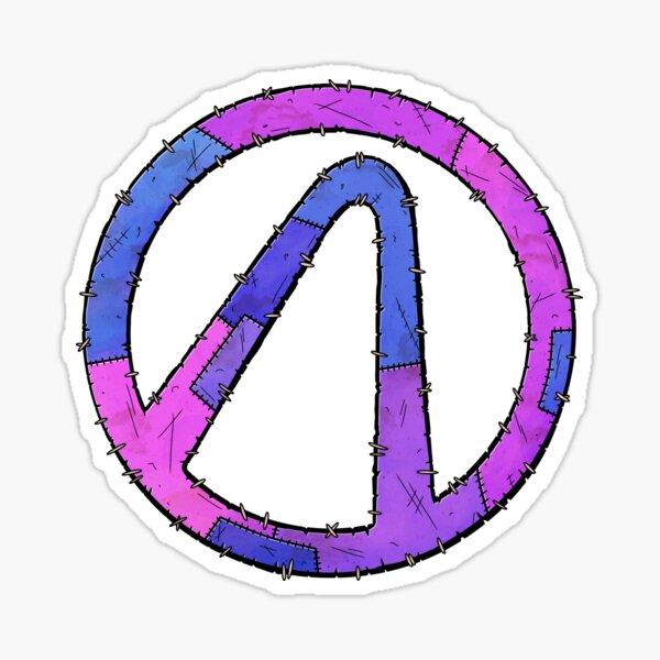 Vault Symbol Stitched Eridium - Borderlands Sticker