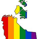 Northwest Territories Pride! by Sun Dog Montana
