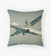 Air Botswana on Finals Throw Pillow