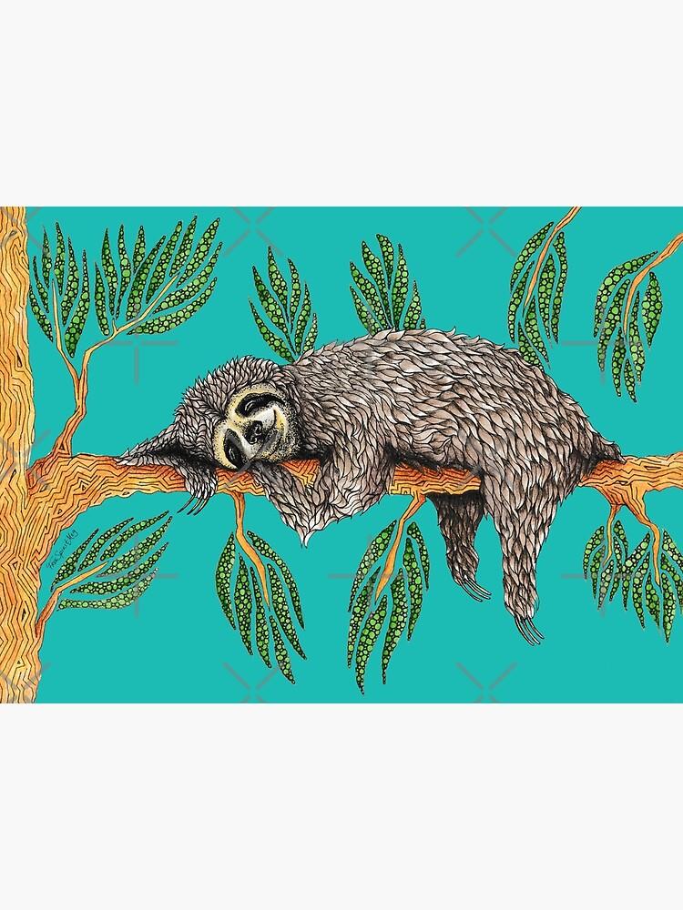Sloth Totem by Free-Spirit-Meg