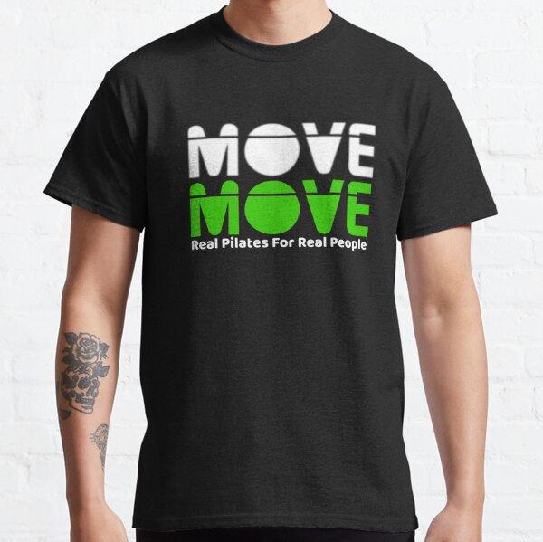 Move Move Pilates (White/Green) Classic T-Shirt