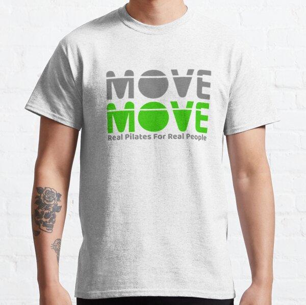 Move Move Pilates (Grey/Green) Classic T-Shirt