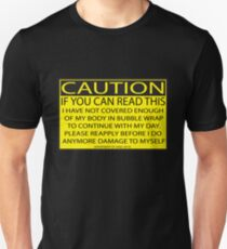 Accident prone Unisex T-Shirt