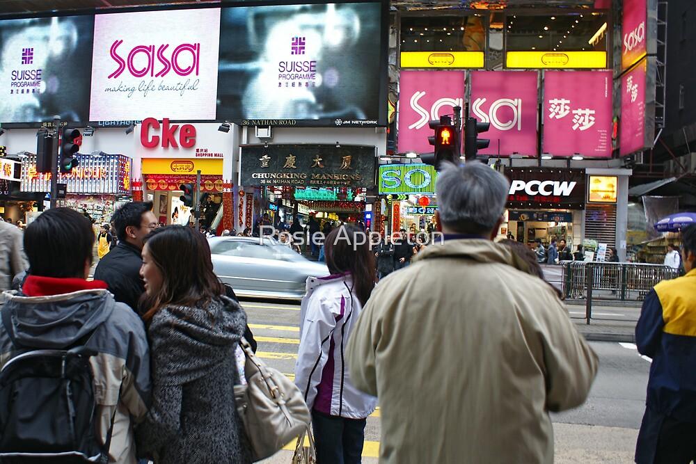 Hong Kong shopping by Rosie Appleton