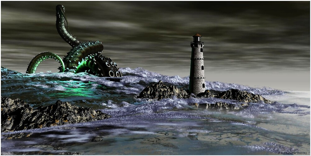 ..The Call of Cthulu.. by Shane Gallagher