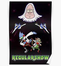 Star Fox x Regular Show Poster