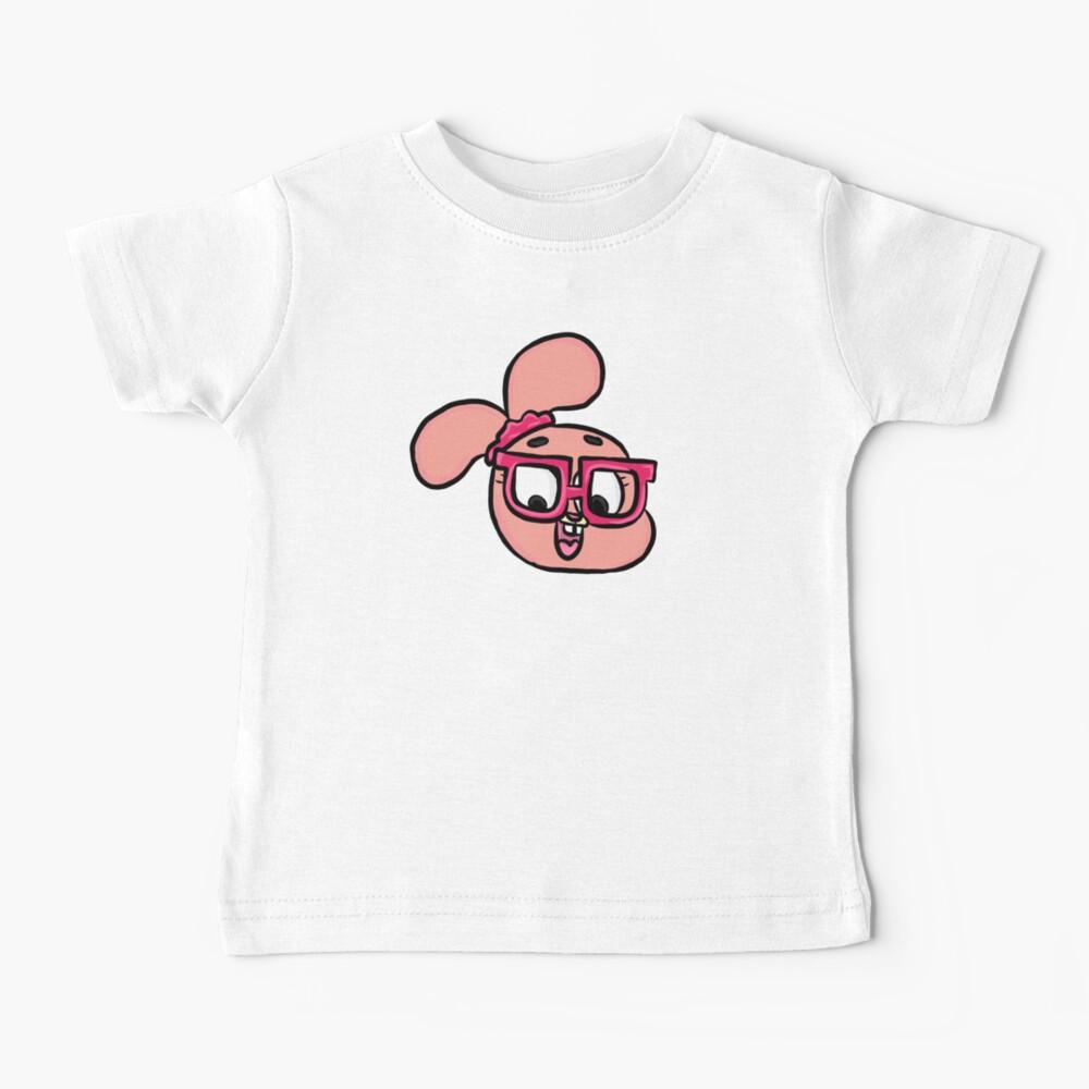 Nerdy Anais Watterson - The Amazing World of Gumball Baby T-Shirt