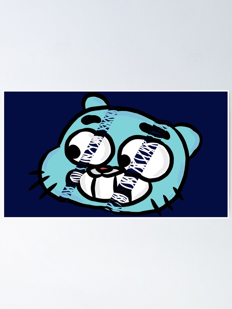 Alternate view of Hang Tight Gumball Watterson Poster