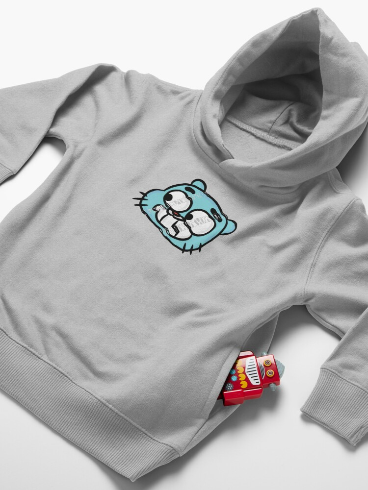 Alternate view of Hang Tight Gumball Watterson Toddler Pullover Hoodie