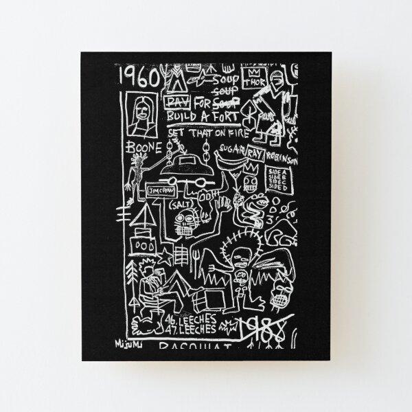1960 - 1988 Wood Mounted Print