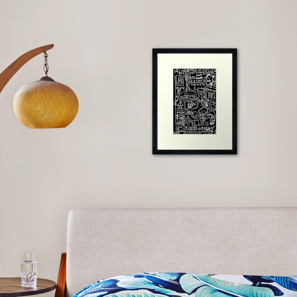 1960 - 1988 Framed Art Print