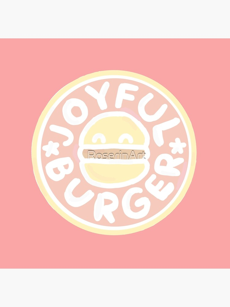 Pastel Joyful Burger Doodle - The Amazing World of Gumball by RoserinArt