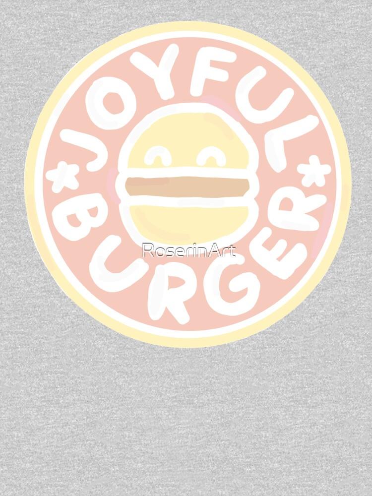 Pastel Joyful Burger Doodle - The Amazing World of Gumball by RoserinArt