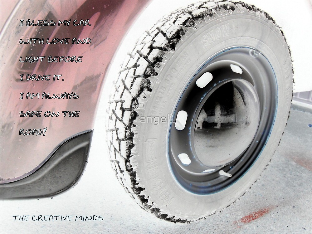 I bless my car with love featured in 3 groups (see below for details) by ©The Creative  Minds