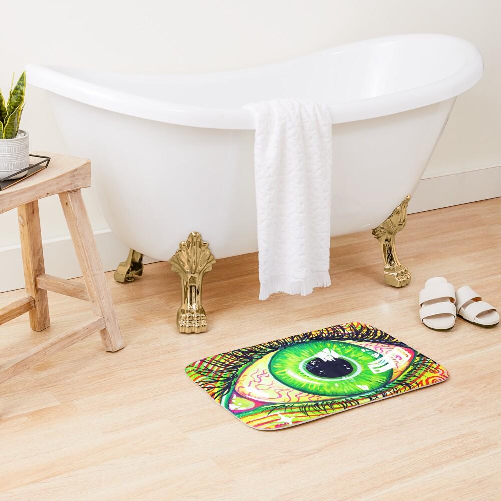 Neon Eye Bath Mat