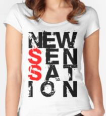 NEW SENSATION Women's Fitted Scoop T-Shirt