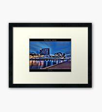 Seafarers Bridge, Melbourne III Framed Print