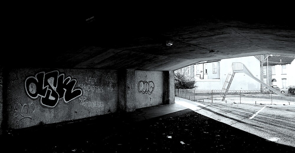 Pelham Bridge Underpass by Gazhutch32