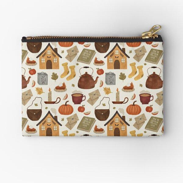 Autumn Cottage Days Zipper Pouch