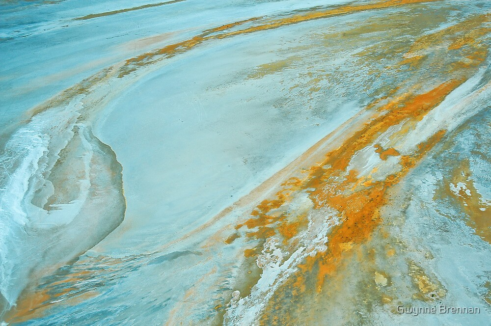 Lake Eyre Abstract by Gwynne Brennan
