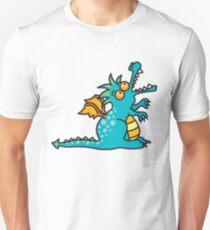 Teal Magic Dragon Unisex T-Shirt