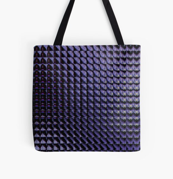 Deep Purple All Over Print Tote Bag