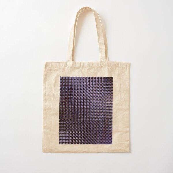 Deep Purple Cotton Tote Bag