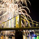 Fireworks In Pittsburgh by carlacardello