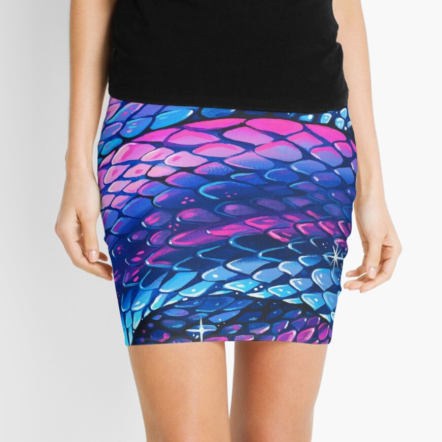 Slither Mini Skirt