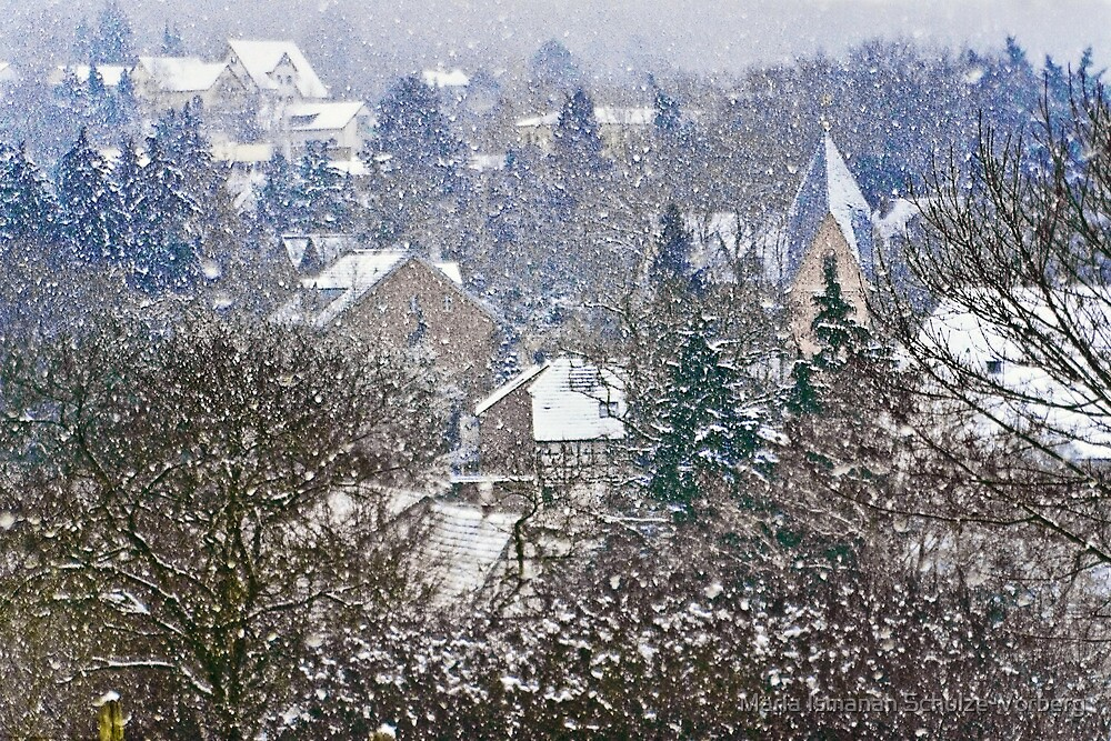 The joy of winter by Maria Ismanah Schulze-Vorberg