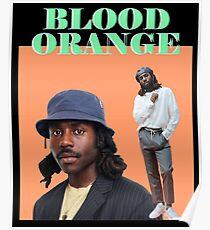 Blood Orange Dev Hynes (on black) Poster