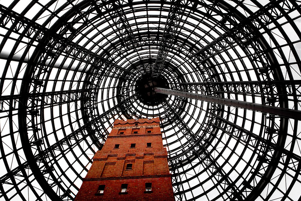 lead shot tower melbourne by shaun965