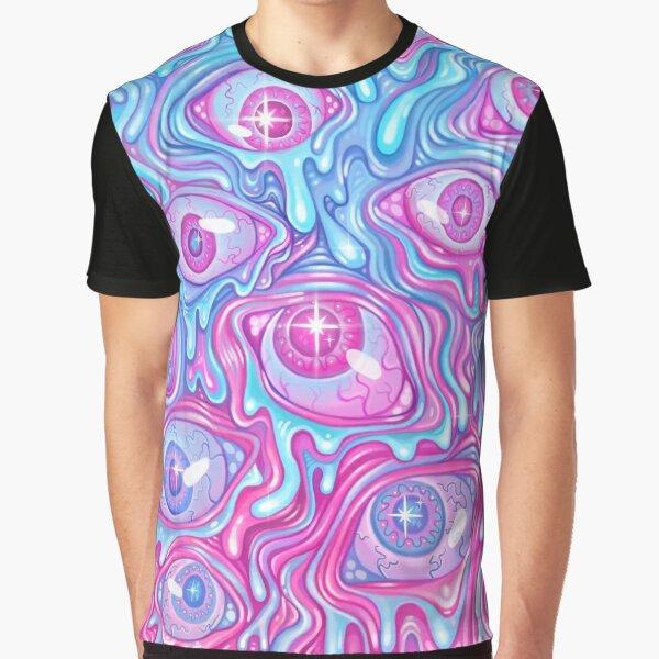 Eyeball Pattern - Version 2 Graphic T-Shirt