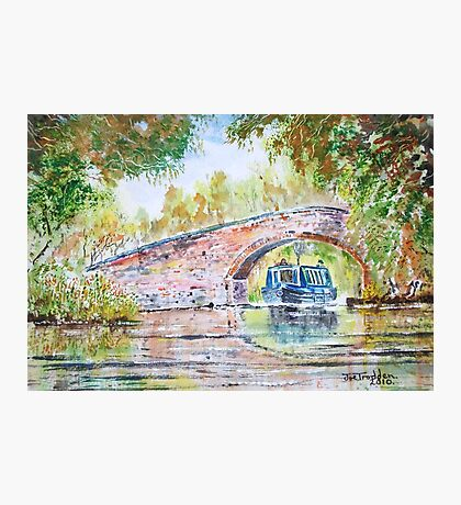 Narrowboat. Photographic Print