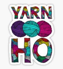 Yarn Ho Sticker