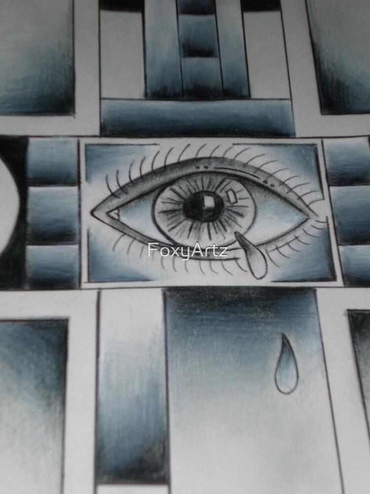 Cross-Eyed 2 by FoxyArtz