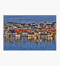Lobster Boats in Perkins Cove Photographic Print