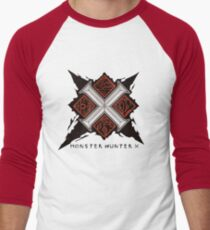 Cross v2 Men's Baseball ¾ T-Shirt