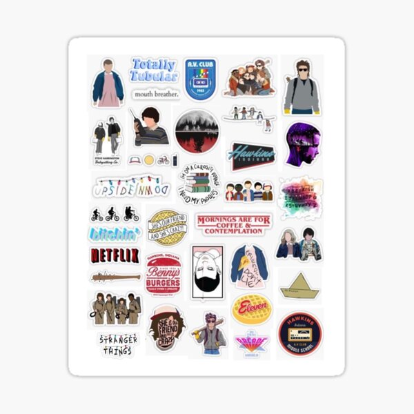 Stranger Things Set 1 Sticker