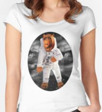 ALF RETURNS FROM PLANET MELMAC TEE SHIRT Women's Fitted Scoop T-Shirt