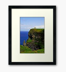 Cliffs of Moher/O'Brien's Tower Framed Print