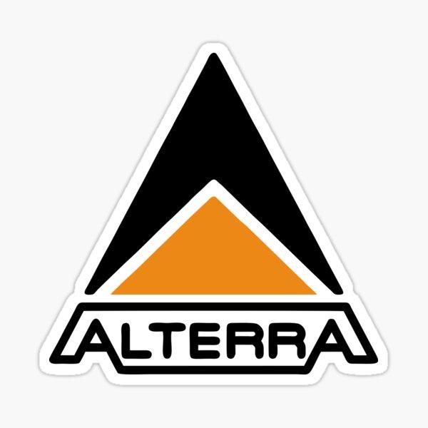 BEST SELLER Alterra Logo Merchandise Sticker