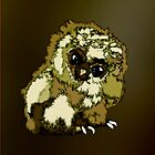 Baby Owl by Edith Arnold